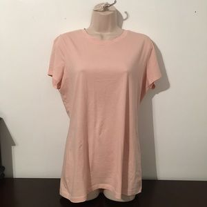 Lord & Taylor cotton short sleeve tee
